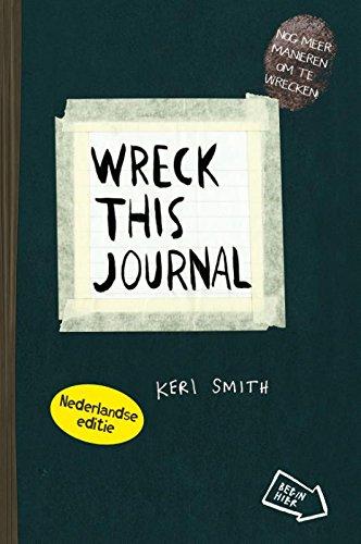 Wreck this journal NL editie (zwart)