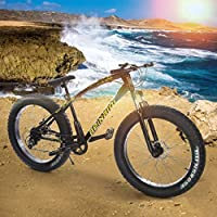 Allasfun 26 Inch 21-Speed Mountain Bike