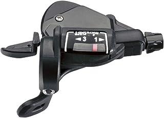 Microshift 3V Trigger TS39-3 Mando, Negro, Talla Única