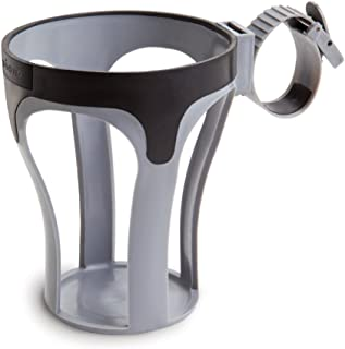 Diono Stroller Cup Holder - Self-Leveling, Holds Bottles, Cans, and Cups, Black (Discontinued by Manufacture)