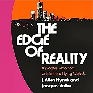 The Edge of Reality audiobook cover art