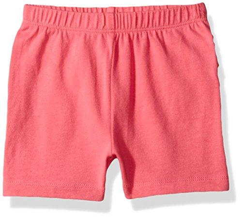 The Children's Place Baby Girls' Fashion Shorts, Geraniumpink 81045, 0-3MONTHS