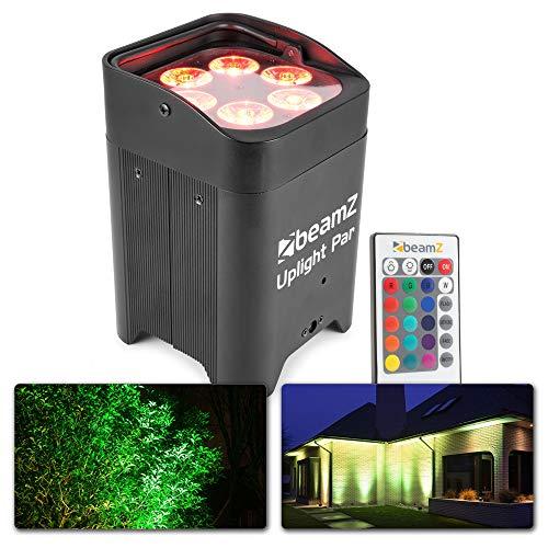 BeamZ BBP96 Uplight Par Barra de luces LED baño de color Negro...