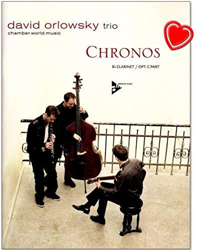 Chronos David orlowsky Trio–14temperamentvolle Klezmer de unidades y balladen Combina el Tercer banda del klarinettisten David orlowsky–Songbook con Bunter herzförmiger Ordenador Pinza