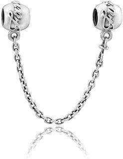 Pandora Family Ties Silver Safety Chain Bracelet 79178805