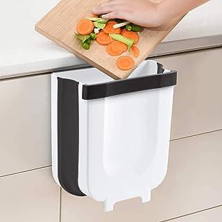 23GUANYI Cubos de Basura Cocina Plegable Colgante,Cubo Basura Reciclaje,Papelera de Cocina