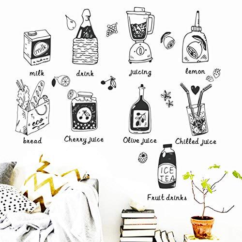 Sap Keuken Koelkast Gratis Stickers voor Kinderen om Engels Milieu Muurstickers leren