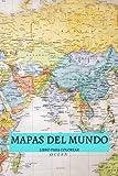 MAPAS DEL MUNDO LIBRO PARA COLOREAR