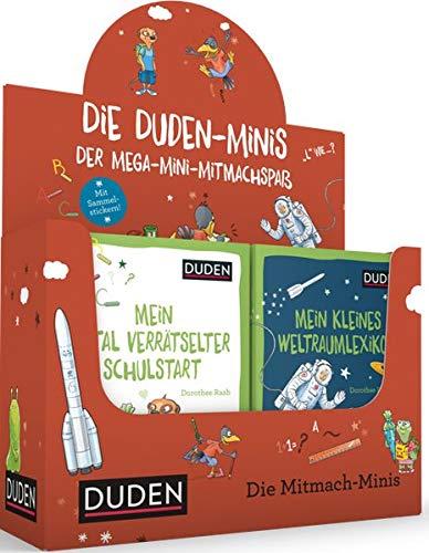 32er Duden Minis (Box 5): Der Mega-Mini-Mitmachspaß