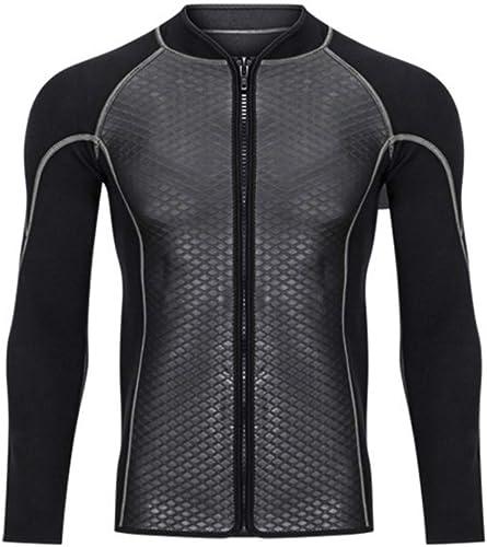 WEATLY Combinaison Veste Manches Longues Hommes crème Solaire vêteHommests Sports Nautiques Chaleur (Taille   XL)