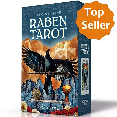 Raben Tarot (Crow Tarot): Set mit Booklet und 78 Karten: Set mit Booklet und Karten