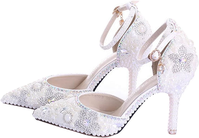 Miyoopark LL179 Women's Pointed Toe Bridal Bridesmaid Wedding Evening Pumps shoes