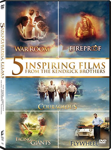 Courageous / Facing the Giants / Fireproof / Flywheel / War Room (2015) - Set