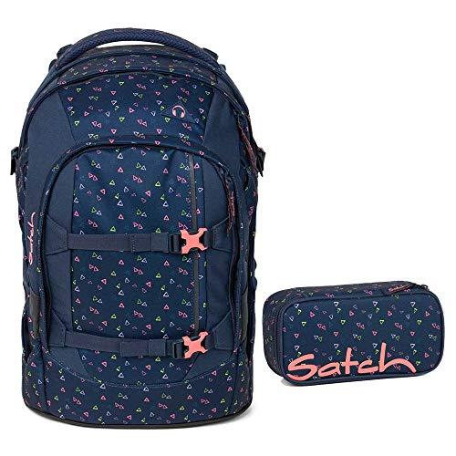 Satch Pack Schulrucksack-Set 2tlg: Schulrucksack und Schlamperbox (Funky Friday)