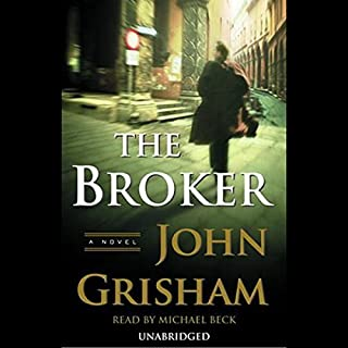 The Broker audiobook cover art