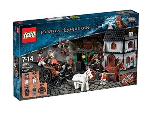 LEGO Piratas del Caribe 4193 - Huída en Londres