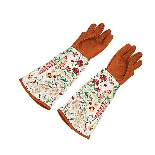 Acogedor 1Paar Lange Ärmel Gartenhandschuhe, Rose Beschneiden Handschuhe für Damen und Herren. Thorn Proof dacrongardening Handschuhe zu schützen Sie die Arme bis Ellenbogen.