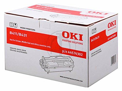 Original OKI 44574302 / B411, für B 431 D Premium Trommel, Farblos, 25000 Seiten