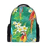 FANTAZIO - Colgantes para mochila con diseño de loros