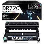 Compatible DR720 DR-720 Drum Unit (Black, 1-Pack) Replacement for Brother MFC-8950DW/DWT 8710DW 8910DW 8810DW DCP-8510DN 8110DN 8150DN 8155DN HL-6180DW/DWT 5470DW/DWT 5450DN 5440D Laser Printer.