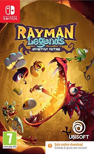 Rayman Legends Definitive Edition Code in Box Switch - Nintendo Switch [Importación italiana]