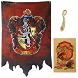 Harry Potter Banner - Gryffindor Slytherin Ravenclaw Hufflepuff House Flaggen Collection Slytherin