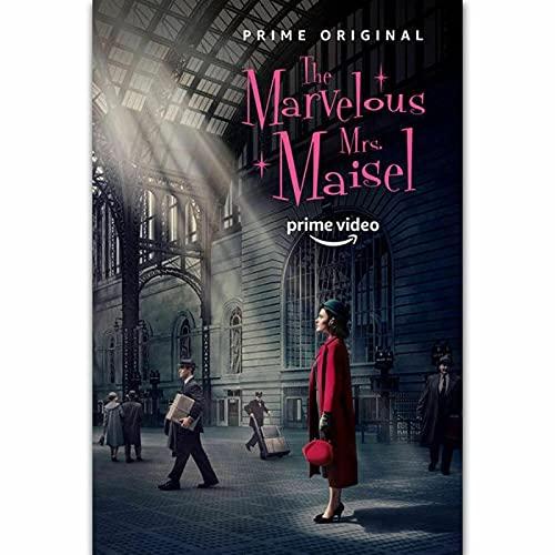 IFUNEW Leinwand Poster Bilder The Marvelous Mrs. Maisel TV Series Show Season Wall Poster Art Decor 60x90cm