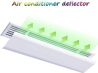 BCGT Aire Acondicionado Deflector de Viento Universal Central de Aire Acondicionado Lado de Salida de Aire de la Cubierta de Aire deflectores (Size : 20×90CM)
