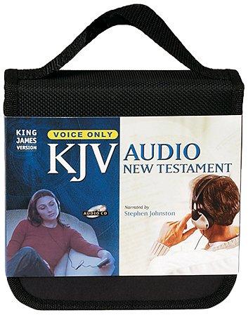 KJV Audio New Testament: King James Version, Black Zipper, Johnston Complete Voice Only
