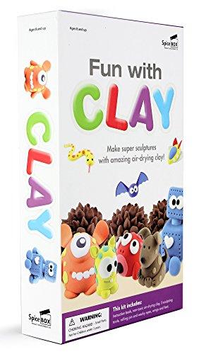 SpiceBox Play Box: Clay