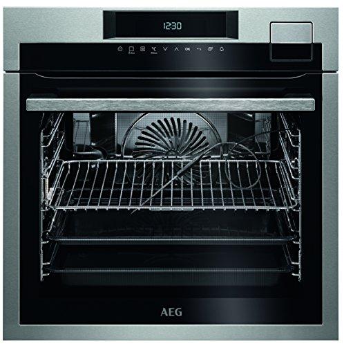 AEG BSE792220M Einbau-Backofen / SteamPro - Multidampfgarer + SousVide / Dampfreinigung / Kerntemperatursensor / SoftClosing / Touch-Bedienung / Grillfunktion / Automatikprogramme / Display mit Uhr /