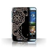 Stuff4 Hülle/Hülle für HTC Desire Eye LTE/Blume/Schwanz