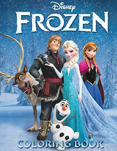 Frozen Coloring Book: Great Book for Frozen Lovers! Colouring Books for...