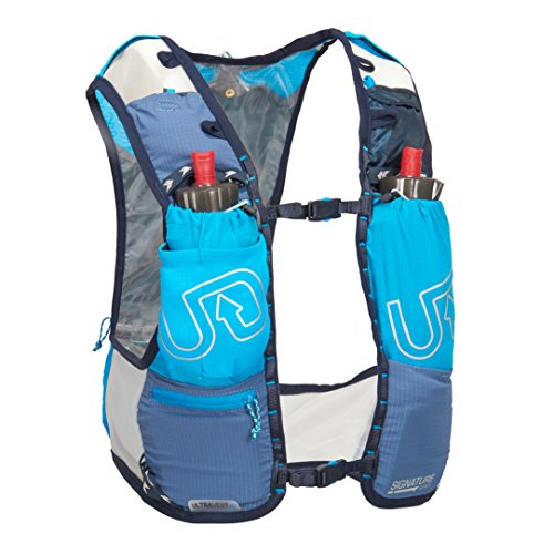 Ultimate Direction Ultra Chaleco V4 HOMBRE CORRER Hidratación Chaleco Azul - Azul, Medium