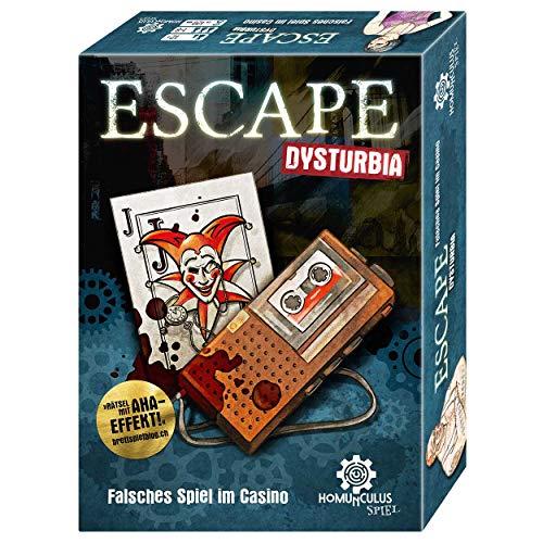 Preisvergleich Produktbild homunculus Escape Dysturbia: Falsches Spiel im Casino. Das Escape-Game mit Story für 1-8 Spieler*innen