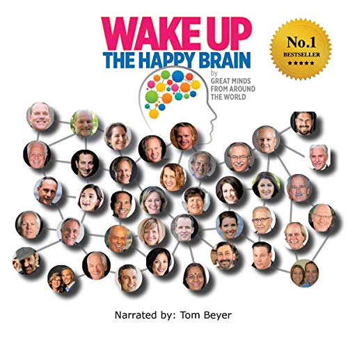 『Wake Up: The Happy Brain by Great Minds from Around the World』のカバーアート