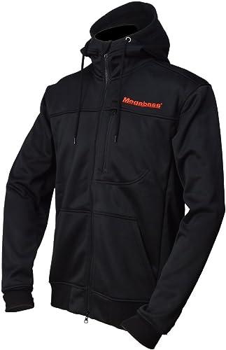 MEGABASS Veste Homme Hybrid sweat à capuche - Noir - Noir, XXL