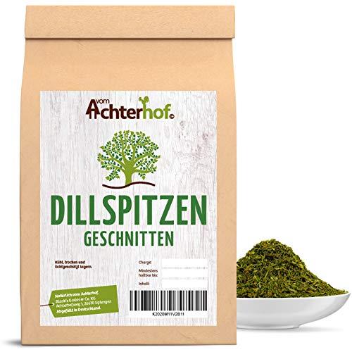 500 g Dill Dillspitzen getrocknet Kräuter Gewürze vom-Achterhof