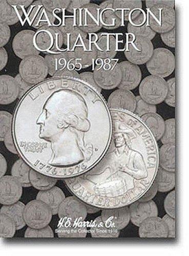 Washington Quarters Folder 1965-1987