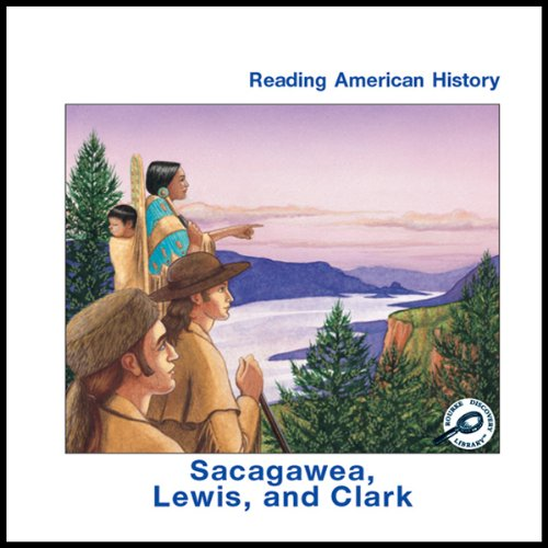 Sacagawea, Lewis and Clark audiobook cover art