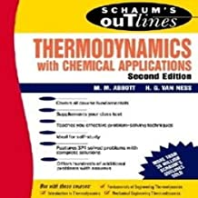 Schaums Outline of Thermodynamics With Chemical Applications 2 Rev ed Edition