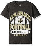 NCAA Cotton Willy Boys Short Sleeve Blend Tee Colorado Buffaloes, team Color, Large