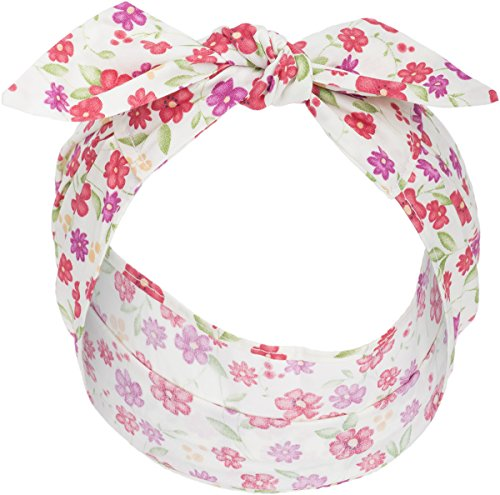 Küstenluder Zoey Vintage FLORAL Blüten Pin Up Haarband Headband Rockabilly