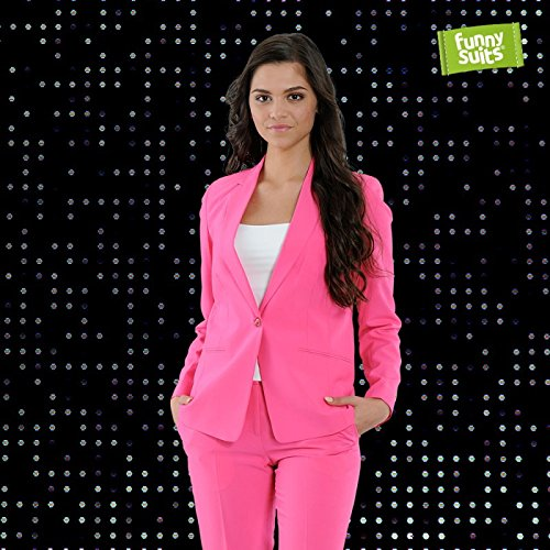 Rosie Jag Pinker Jaguar Anzug Mister Pink 3-teiliges Kostüm deluxe EU SIZES