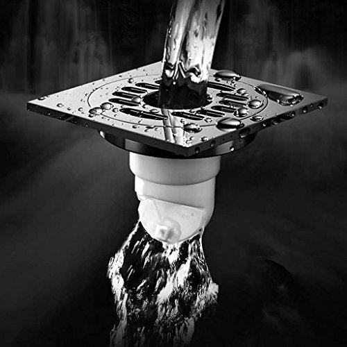 Scarico a pavimento Lavatrice Bagno Doccia Balcone doppio drenaggio Deodorante Core scarico pavimento