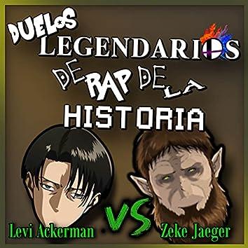 Levi Ackerman vs Zeke Jaeger (Duelos Legendarios de Rap de la Historia)
