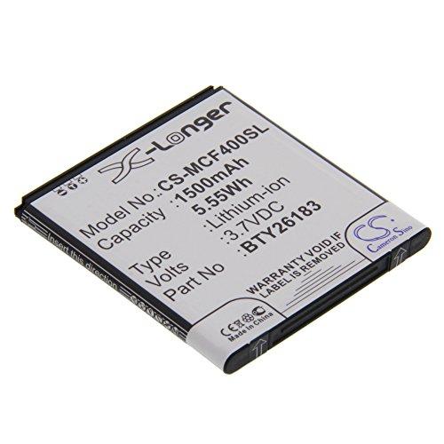 Akku für Mobistel Cynus F4 Ersatzakku Accu Batterie