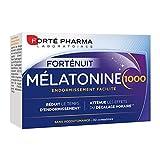 Forté Pharma - Mélatonine 1000 | Complément Alimentaire Sommeil - A base de Mélatonine dosée à 1g - Endormissement facilité | 30 comprimés
