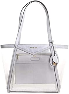 Michael Kors Womens Tote Bag, Optic White - 30S9GWHT3P
