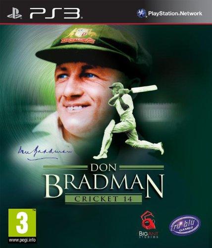 UK Import Don Bradman Cricket 14 PS3